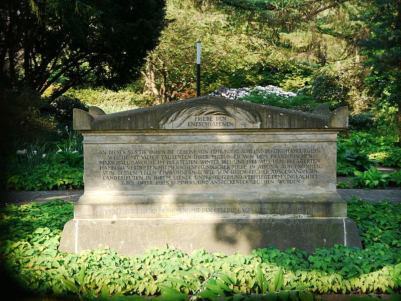 Begraafplaats voor Slachtoffers Belegering Hamburg