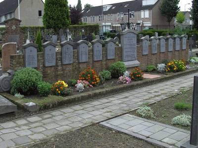 Gezamenlijk Graf Oorlogsslachtoffers Rooms Katholieke Begraafplaats Hasselt Tilburg