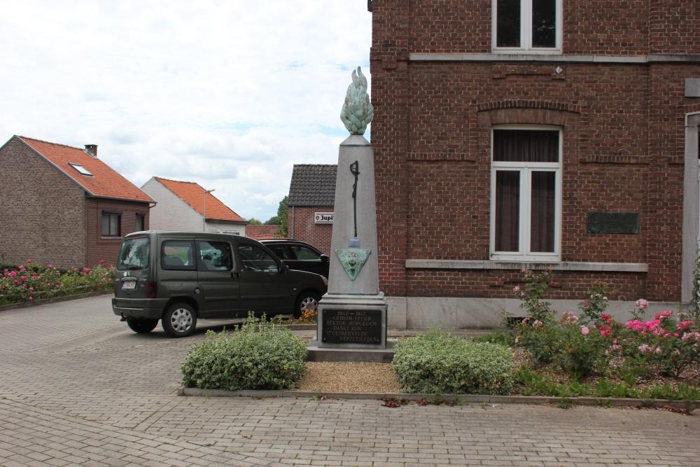 Monument Geheim Leger Heks