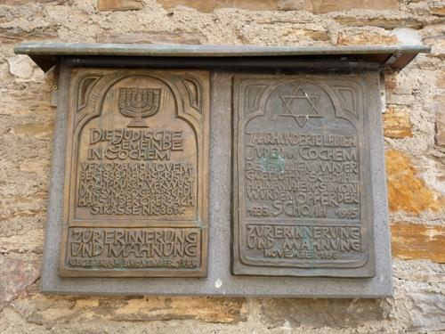 Plaques Synagogue and Jewish Residents Cochem