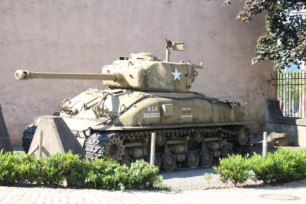Openluchttentoonstelling Nationaal Museum voor Militaire geschiedenis Diekirch