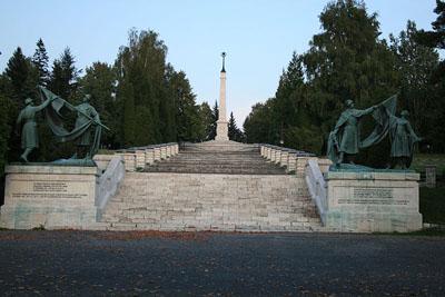 Czechoslovakian War Cemetery Liptovský Mikulás