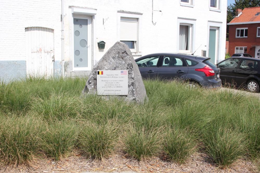 Remembrance Stone Liberation Remicourt