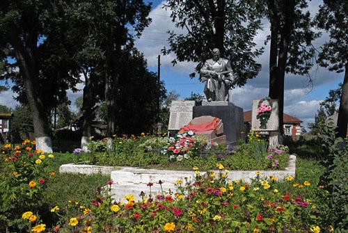 Mass Grave Soviet Soldiers Medzhibozh