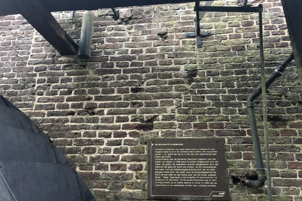 War Damage Bovenste Plasmolen (old watermill)
