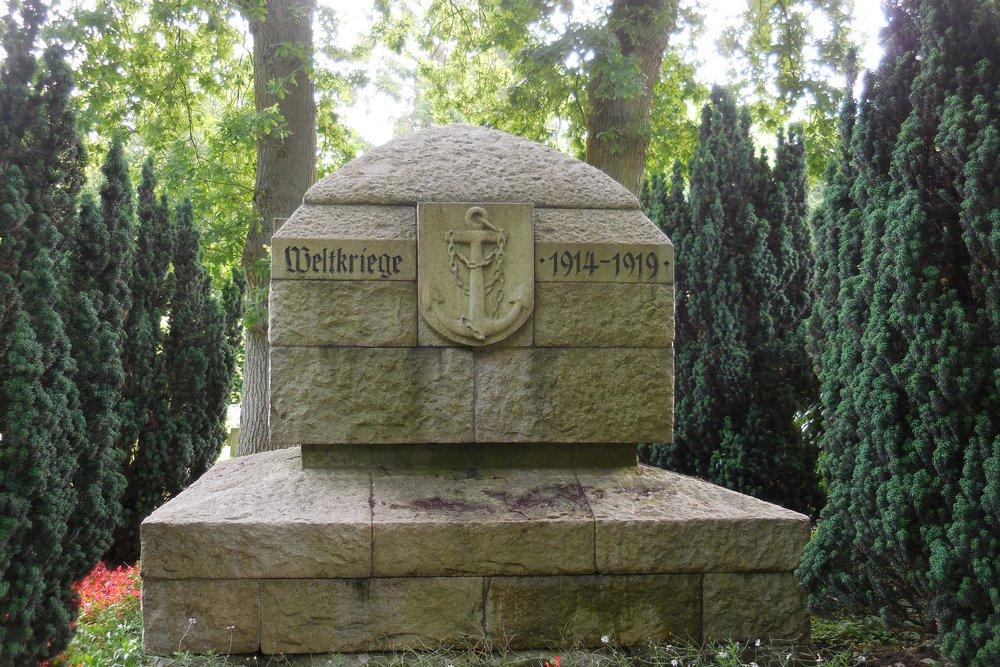 Memorial Fallen Navy Men 1914-1919
