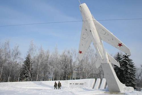 Vliegeniersmonument Lipetsk