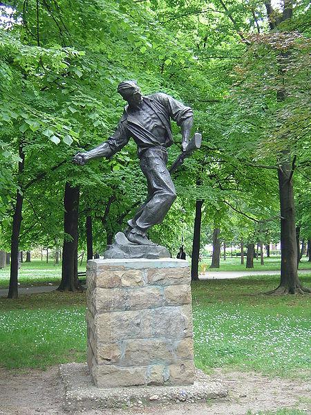 Monument Strijd Partizanen Belgrado