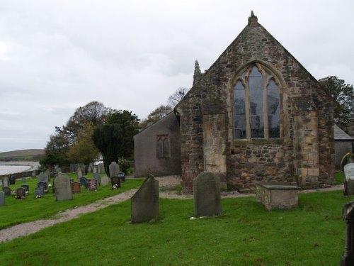 Commonwealth War Graves St. Cuthbert Churchyard