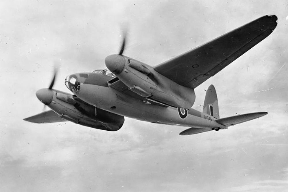 Crashlocatie de Havilland DH.98 Mosquito B Mk IX ML915