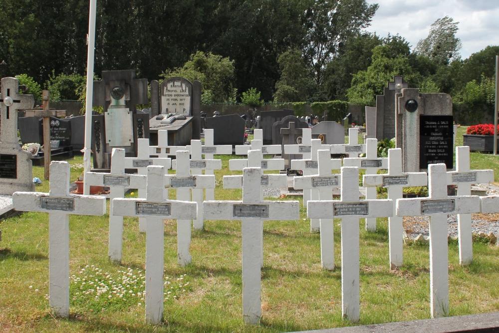 Belgische Oorlogsgraven Mopertingen