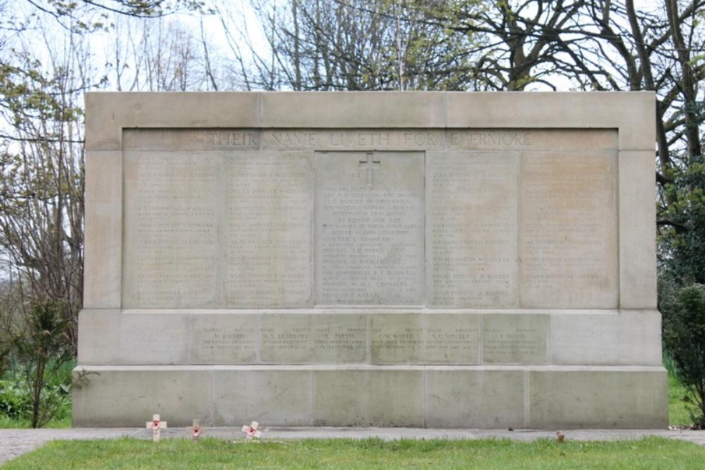 Oorlogsgraven van het Gemenebest Willow Grove Cemetery