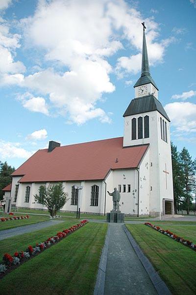 Finse Oorlogsgraven Kuusamo