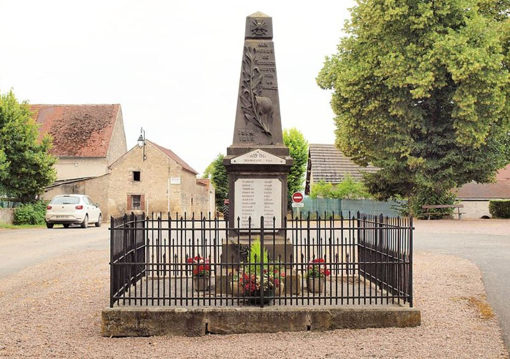 Oorlogsmonument Bègues