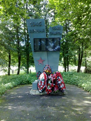Mass Grave Soviet Soldiers Kozhino