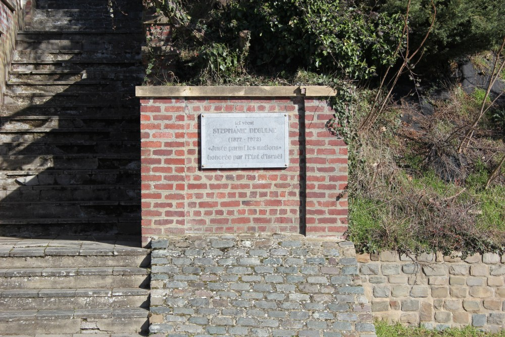 Commemorative Plate Stéphanie Degulne