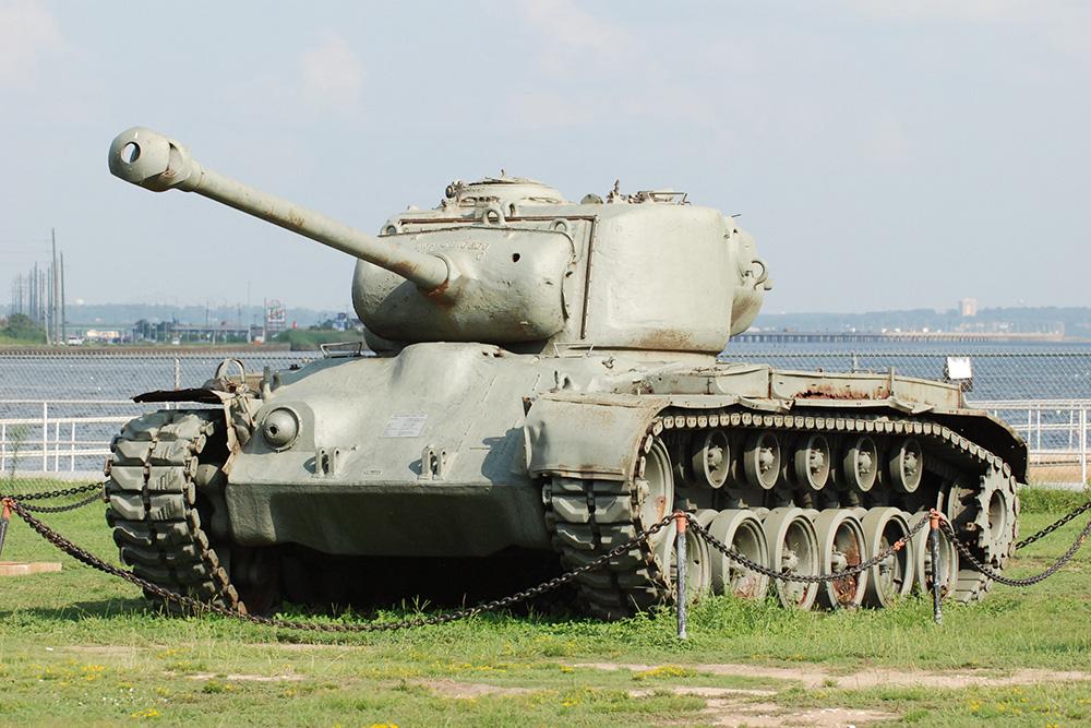 M26 Pershing Zware Tank