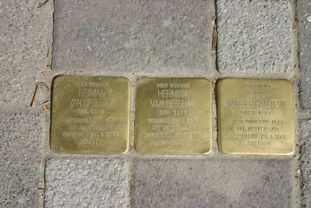 Stumbling Stones Scheemderstraat 23