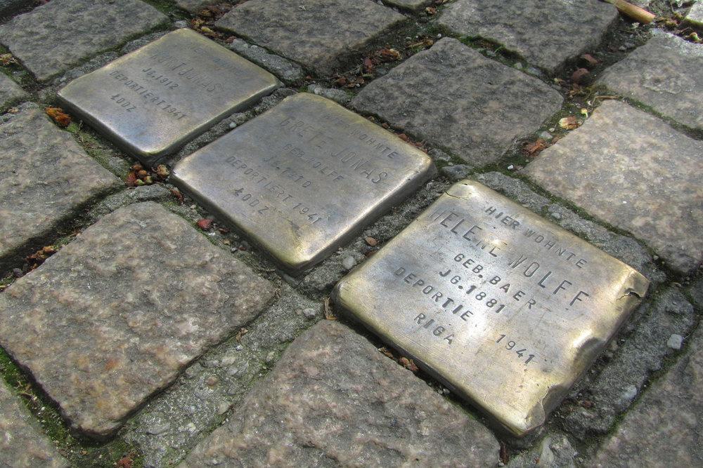 Stolpersteine Friesenstraße 82