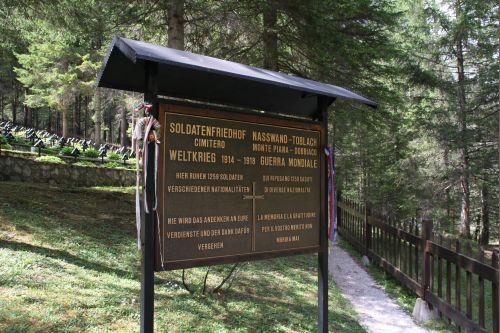 Oostenrijks-Hongaarse Oorlogsbegraafplaats Nasswand