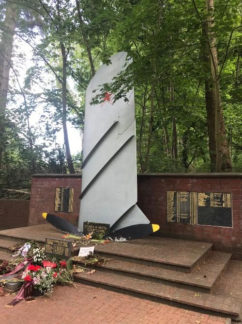 Soviet War Cemetery Buckow