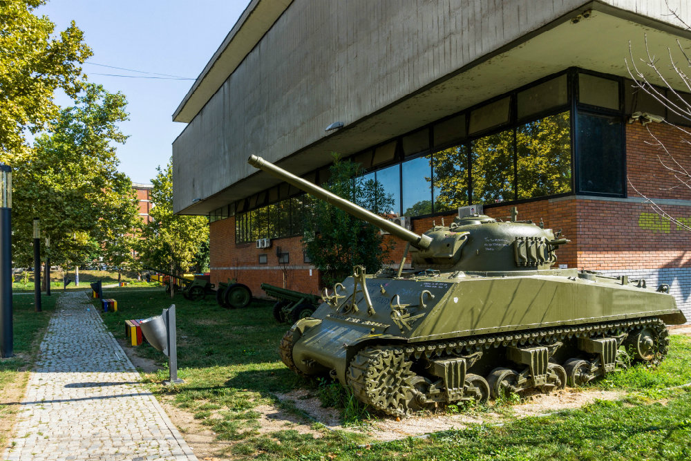 Sherman Tank Novi Sad