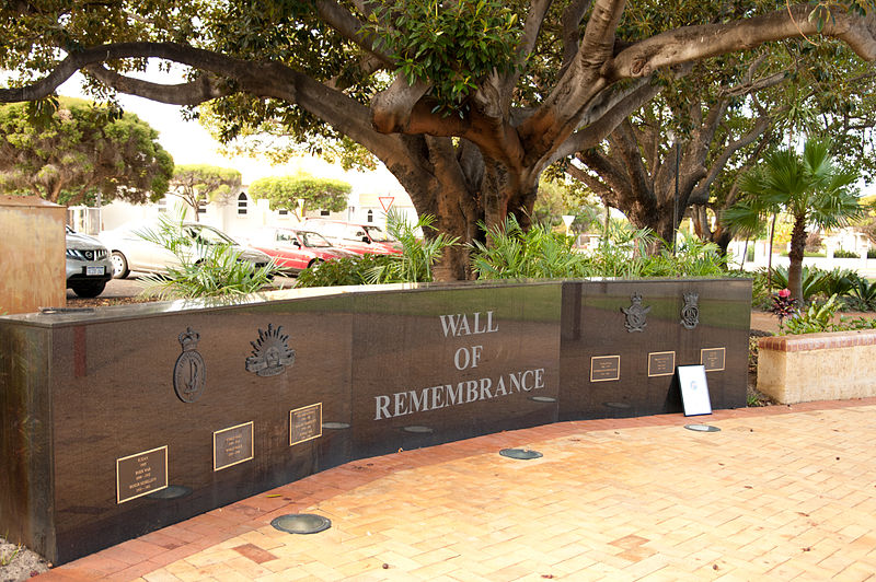 Wall of Remembrance Mount Hawthorn