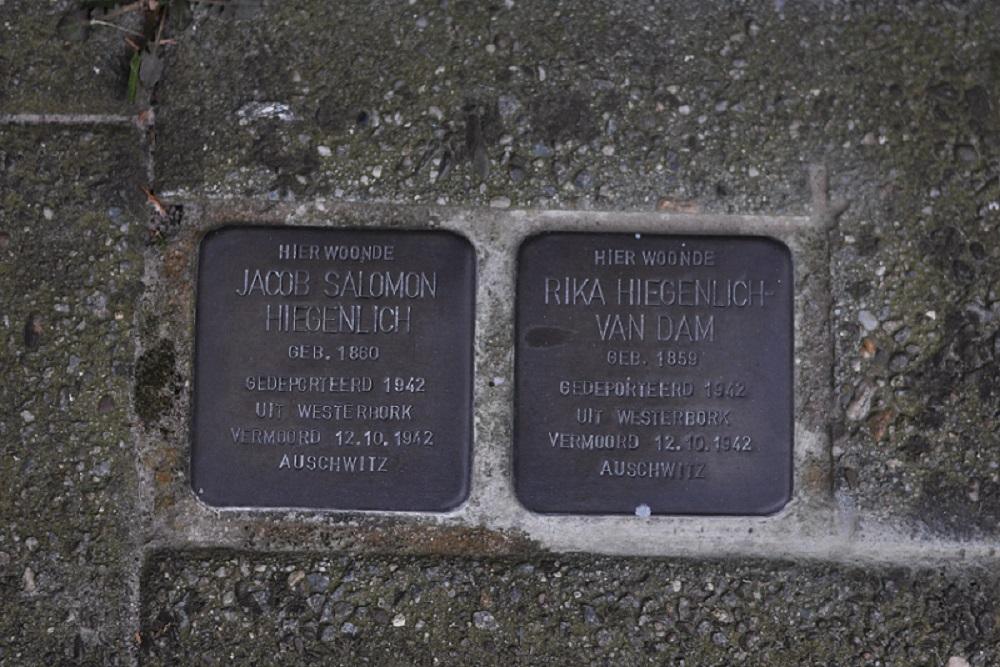 Stumbling Stones Oosterhoutstraat 92 (was Eschstraat 43)