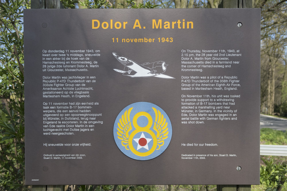 Monument Dolor A. Martin