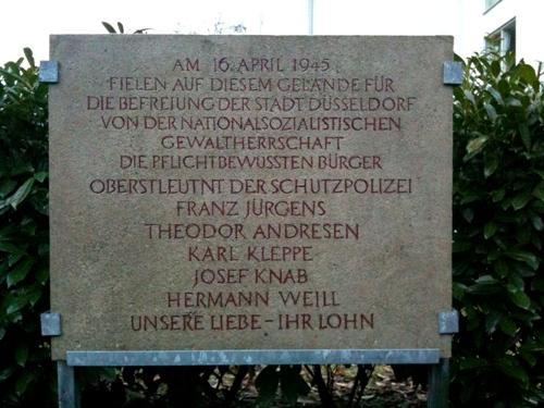 Monument Executies 16 April 1945