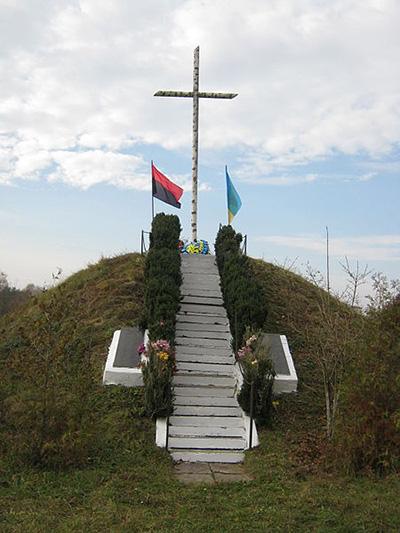 Symbolische Massagraf UPA Soldaten