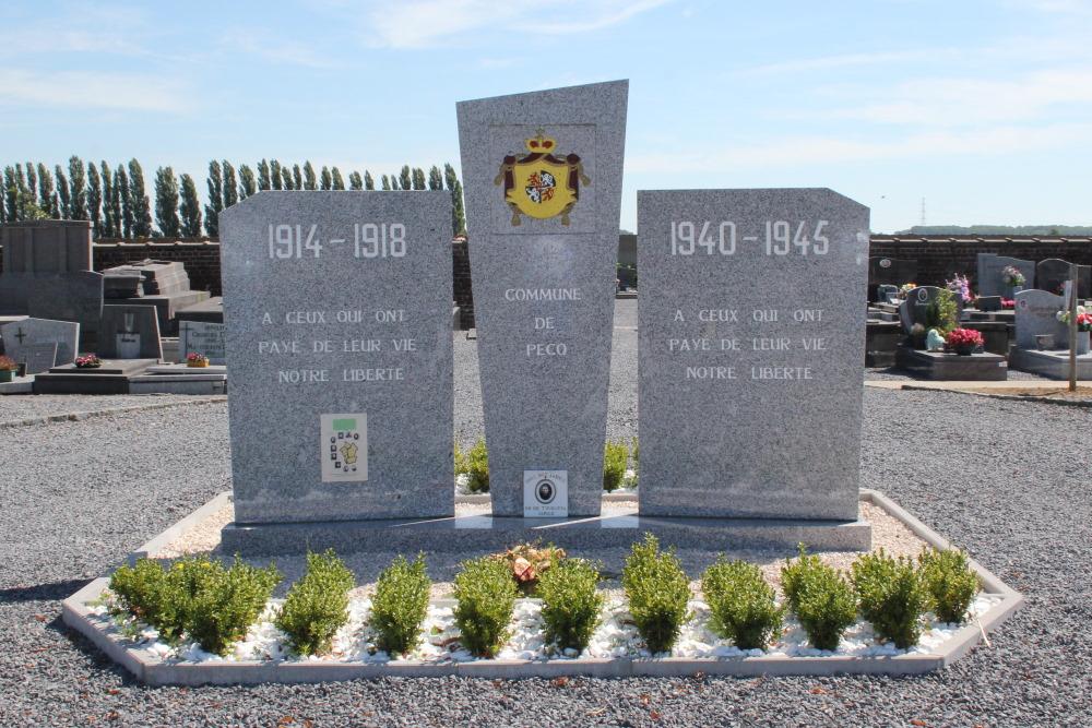War Memorial Cemetery Pecq