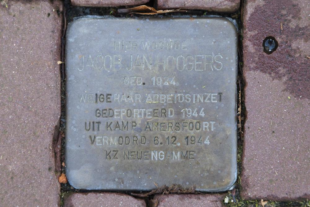 Stolperstein Dorpsweg 7