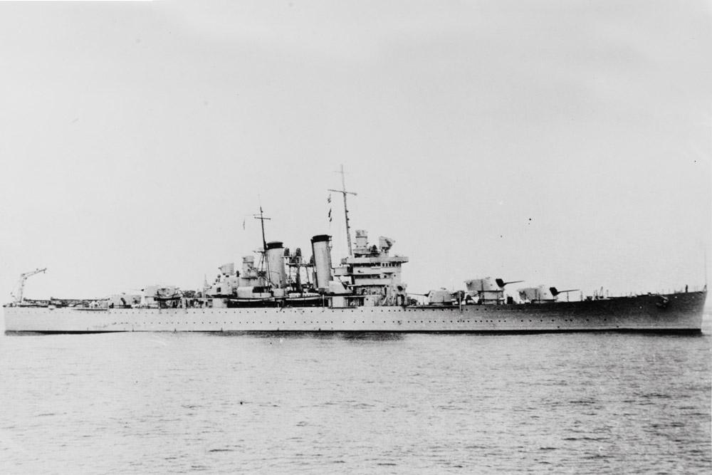 Scheepswrak USS Helena (CL-50)