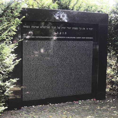 Joods Monument Hauptfriedhof