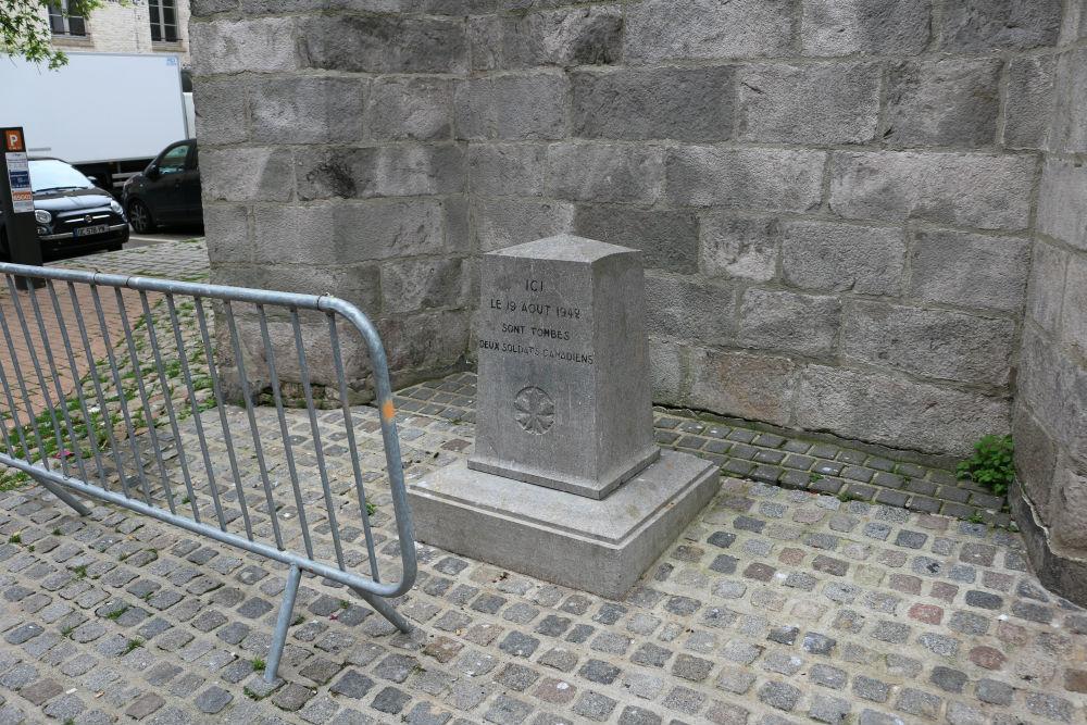 Memorial Fallen Canadian Soldiers