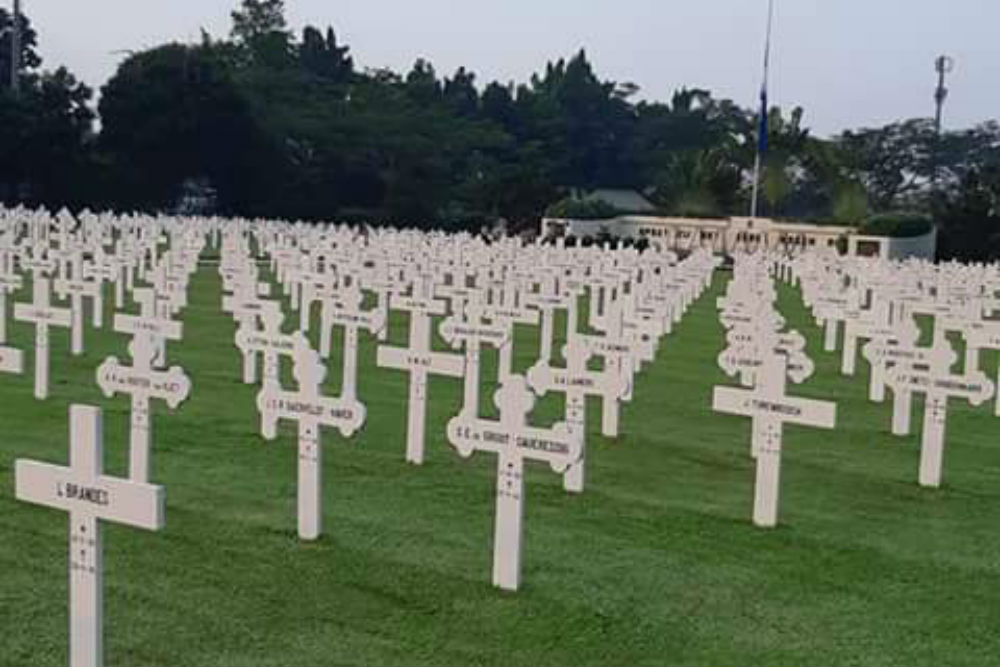 Dutch War Cemetery Menteng Pulo