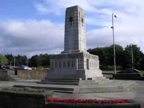 War Memorial Airdrie
