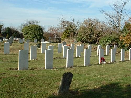 Oorlogsgraven van het Gemenebest St Clement Churchyard