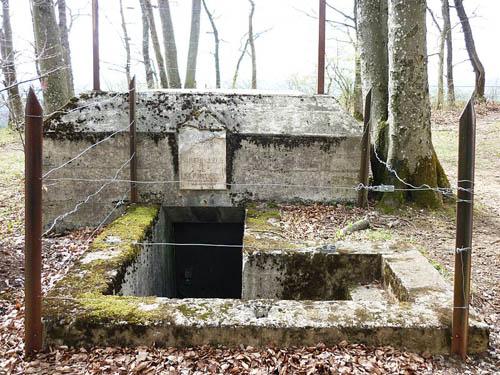 Limmat Line - Artilleriewerk Geissberg Chameren