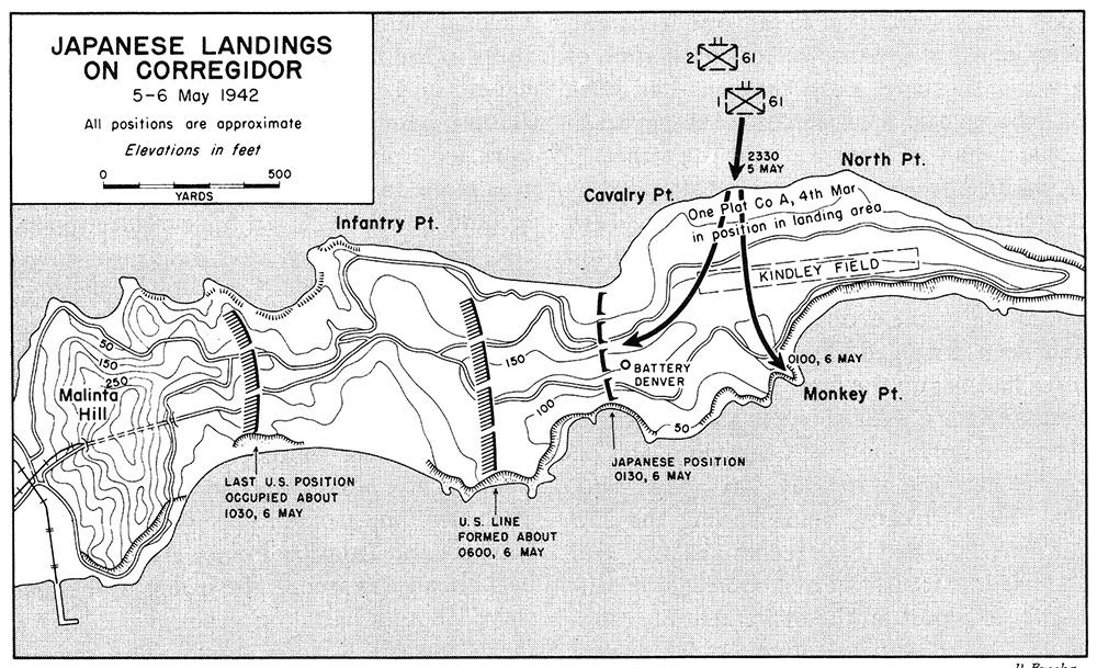 Corregidor - Infantry Point (IV-F-1)