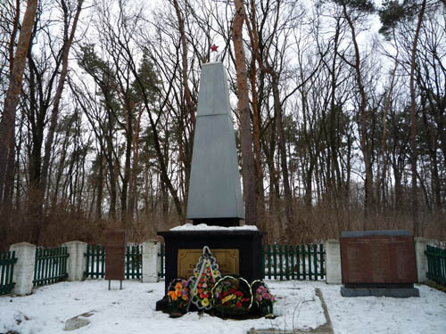 Massagraf Sovjet Soldaten Lokhvytsia