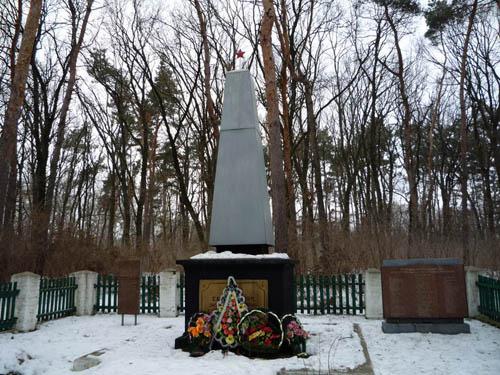 Mass Grave Soviet Soldiers Lokhvytsia