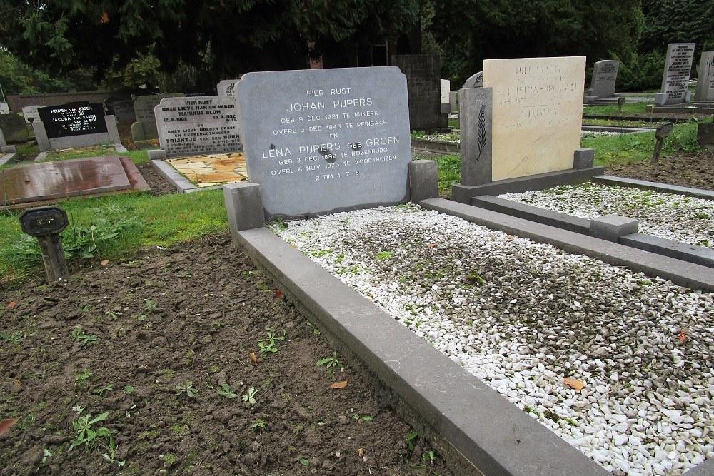 Nederlandse Oorlogsgraven Algemene Begraafplaats Nijkerk