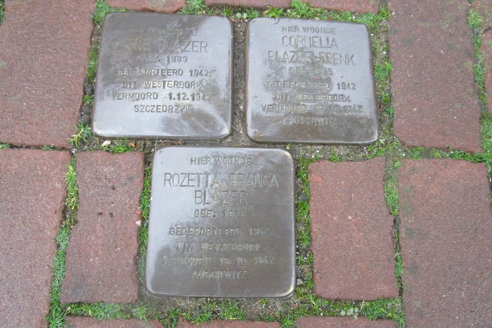 Stumbling Stones Kerkstraat 17