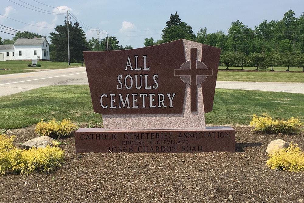 Amerikaanse Oorlogsgraven All Souls Cemetery