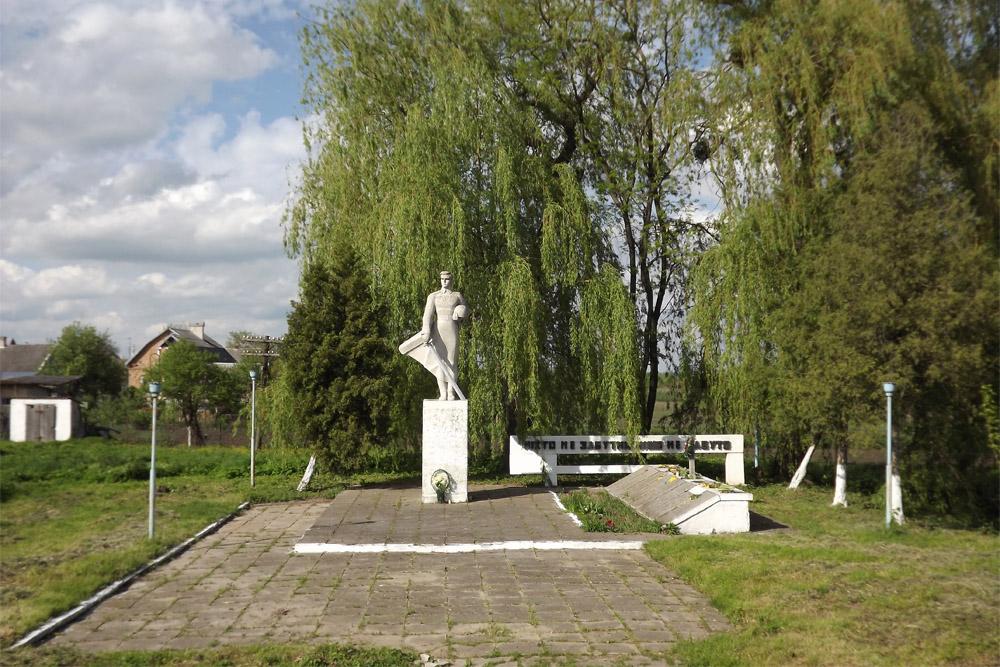 Massagraf Sovjet Soldaten Kurovychi