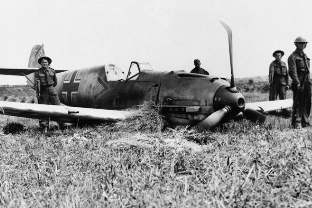 Crash Site Messerschmitt Bf 109E-1