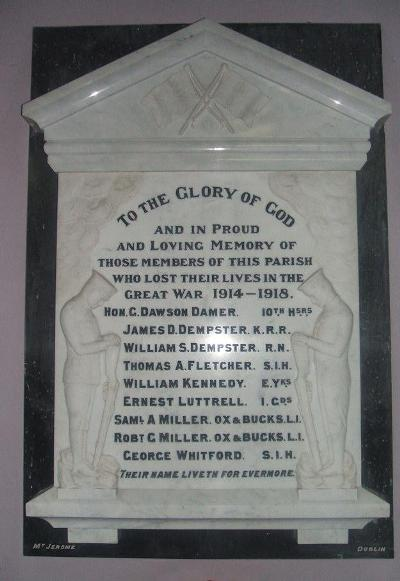 War Memorial St. John the Evangelist's Church