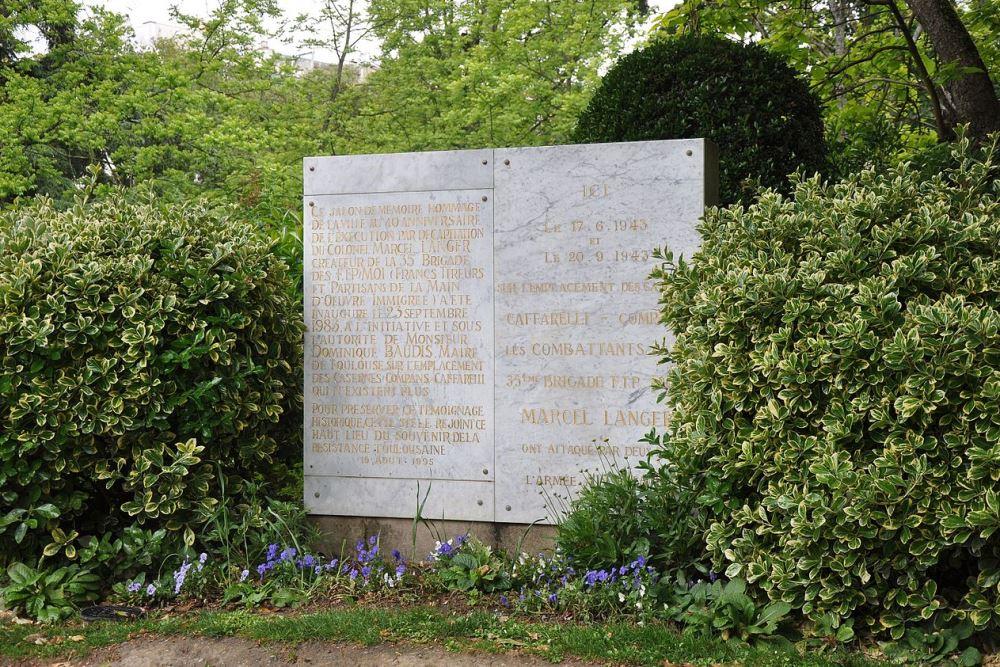 Monument Aanvallen Verzet